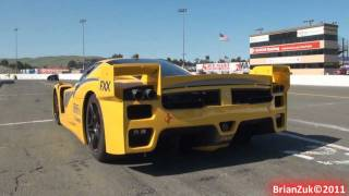 getlinkyoutube.com-Ferrari FXX Evolution and FXX In Action