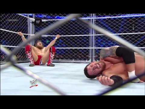دانيال براين ضد ويد باريت سماك داون Daniel Bryan vs  Wade Barrett   SmackDown, Aug  23, 2013