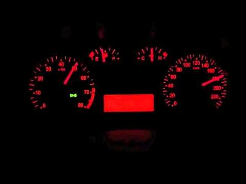 Fiat Stilo 1.6 16v, Top Speed Run #3
