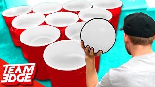 getlinkyoutube.com-Giant Cup Pong!!