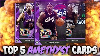 NBA 2K16 MYTEAM BEST AMETHYST'S IN THE GAME! BOOYAH!