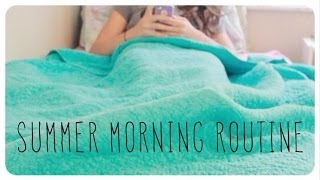 getlinkyoutube.com-Summer Morning Routine! | 2014