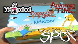 getlinkyoutube.com-Collectible Spot - Kidrobot Adventure Time Mini Series Figures CASE OPENING!