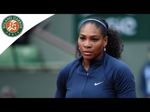 S. Williams v Rybarikova 2016 Roland-Garros Women`s Highlights/R1