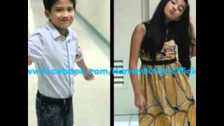 The Loveteam in going bulilit,Harvey and belle