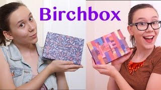 getlinkyoutube.com-Birchbox Unboxing | November AND October (cause im a mess)