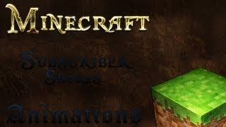 getlinkyoutube.com-Subscriber shorts - Minecraft Animation