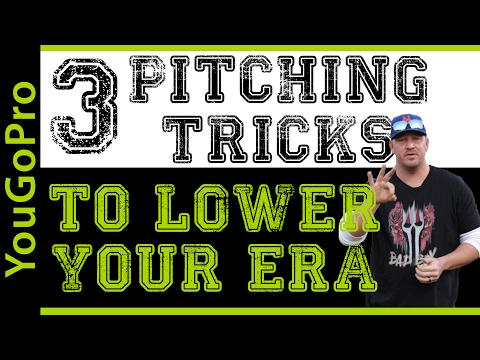 3 SIMPLE Pitching Tricks that will help you Lower Your ERA!