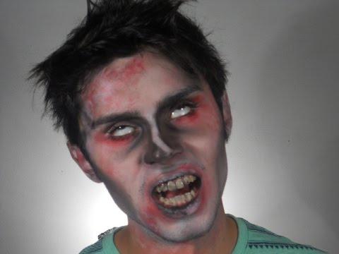 Maquillaje de Zombie SIN BROCHAS - Easy Zombie Makeup with NO BRUSHES || Biromsmakeup