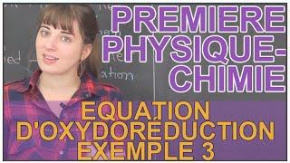 Oxydant, réducteur et équation d'oxydoréduction : Ex 3 - Physique-Chimie 1ère - Les Bons Profs