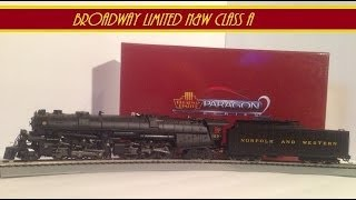 getlinkyoutube.com-Broadway Limited Norfolk and Western Class A Review