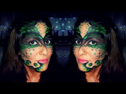 Maquillaje Reptil Serpiente Snake Reptile Makeup (Actualizado) | Sue Pedrosa