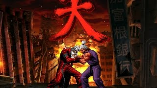 getlinkyoutube.com-[KOF Mugen] The Battle of CVS2 Bosses : God Rugal vs Shin Gouki (갓 루갈 vs 신 고우키)