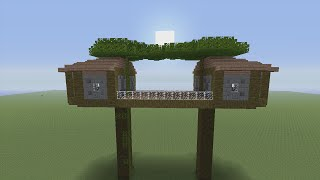 getlinkyoutube.com-How to Build a Tree House in Minecraft - Part 1