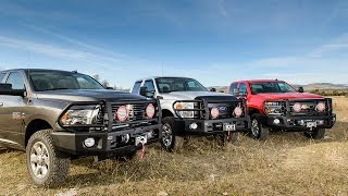 getlinkyoutube.com-ARB Full-Size Truck Modular Deluxe Winch Bumper