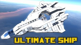 Space Engineers: Ultimate Utility Ship, Exploration Ship, 3D Printing