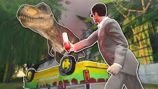 getlinkyoutube.com-Garry's Mod - Mod de dinossauros do Jurassic Park Gmod