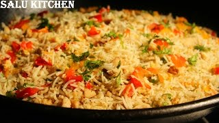 getlinkyoutube.com-Chicken Fried Rice - Easy Recipe