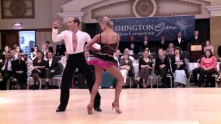 getlinkyoutube.com-2014 Washington Open Riccardo & Yulia - Cha Cha Cha