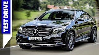 2017 Mercedes-AMG GLC 43 Coupe   TEST DRIVE + ENGINE SOUND