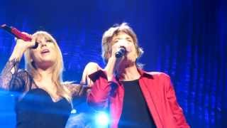 "getlinkyoutube.com-Rolling Stones & Taylor Swift ""As Tears Go By"" Chicago United Center June 3, 2013 by Randy Rauch"