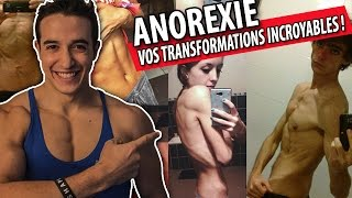 getlinkyoutube.com-ANOREXIE ! VOS TRANSFORMATIONS INCROYABLES !