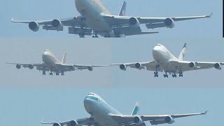 Back to Back Boeing 747 Landing Action at Mumbai Chhatrapati Shivaji International Airport!!!