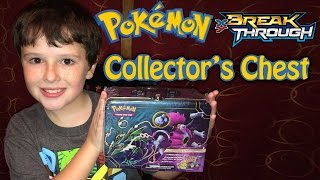 getlinkyoutube.com-Pokemon BREAKThrough Collector's Chest - the Treasure Chest Lunch Box!