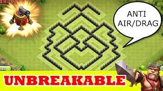 "getlinkyoutube.com-Clash Of Clans | ""UNBREAKABLE DEFENCE"" TH7 WAR BASE | ANTI AIR"