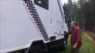 getlinkyoutube.com-MAN 4WD Overland Expedition Vehicle / MAN camion camping-car / Полноприводный МАН кемпер