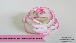 getlinkyoutube.com-How To Make Paper Flowers