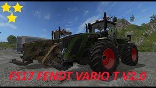 getlinkyoutube.com-Mod Vorstellung Farming Simulator Ls17:FENDT VARIO T V2.0