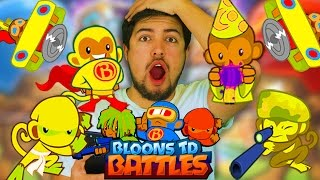 Are GOLD TOWERS More Powerful..?!?! (Bloons TD Battles)