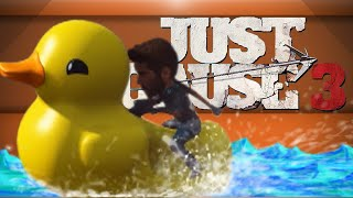 getlinkyoutube.com-EASTER EGG MADNESS!! - Just Cause 3 (Giant Head Gun & Duck Boat!)