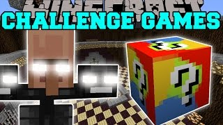 getlinkyoutube.com-Minecraft: VILLAGER WITHER CHALLENGE GAMES - Lucky Block Mod - Modded Mini-Game