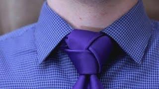 getlinkyoutube.com-How to tie a tie - Trinity Knot  (Made Simple)