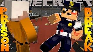 getlinkyoutube.com-Minecraft PRISON BREAK - SCUBA STEVE GETS BEATEN UP!!!