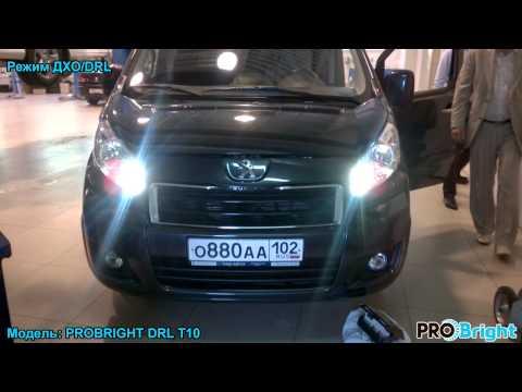 PROBRIGHT DRL T10 в Peugeot Expert