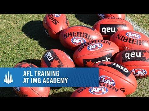 AFL Training at IMG Academy
