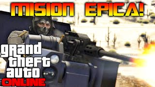 getlinkyoutube.com-LA MISION SUPER IMPOSIBLE!! IMPROVISADA GTA V ONLINE Makiman131
