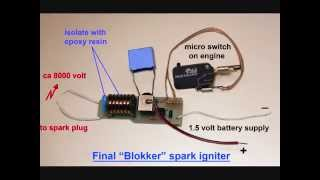 getlinkyoutube.com-Homemade Miniature Spark Ignitor