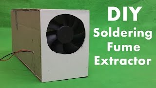 getlinkyoutube.com-How to Make a Soldering Fume Extractor - Smoke Absorber