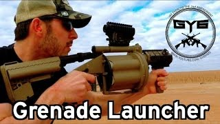 getlinkyoutube.com-M32 Grenade Launcher---MGL M32A1 MILKOR USA