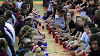 getlinkyoutube.com-Cup Song Collège Saint-Bernard - Drummondville