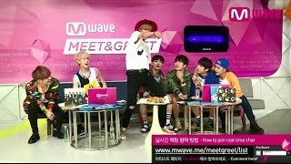 getlinkyoutube.com-GOT7's 'Sexy Dance' and Mark's Aegyo, 'Just Right'! [MEET&GREET]