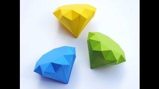getlinkyoutube.com-Como fazer: um diamante de origami