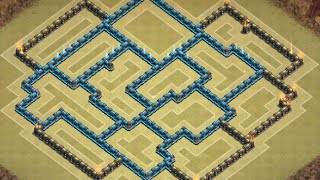Clash of Clans: NEW (TH9) Townhall 9 WAR BASE ll Air-Sweeper ll Late June Edition 2015