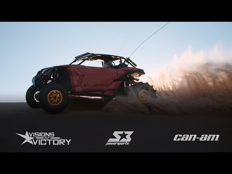 Flat Out In The Sand Dunes Flying Around Glamis In A Custom Can-am Maverick X3