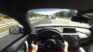getlinkyoutube.com-2014 New BMW 435d xDrive Driving POV Review GoPro Hero 3