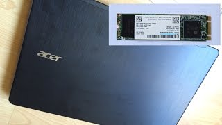getlinkyoutube.com-SSD Installation on ACER Laptop - SSD Установка на ноутбуке ACER